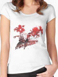 It Has Begun... (Tokyo Ghoul) Women's Fitted Scoop T-Shirt