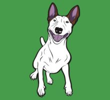 Excited Bull Terrier  Kids Clothes