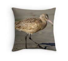 Marbled Godwit #5 Throw Pillow