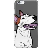 Happy Bull Terrier  iPhone Case/Skin