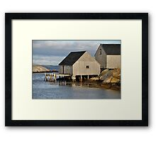 Peggy's Cove - Nova Scotia Framed Print
