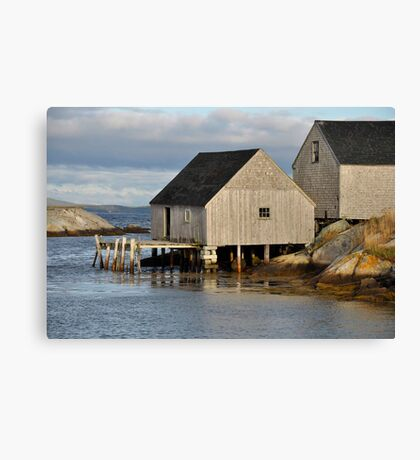 Peggy's Cove - Nova Scotia Canvas Print