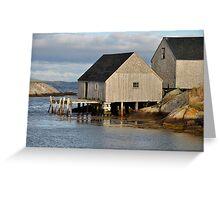 Peggy's Cove - Nova Scotia Greeting Card