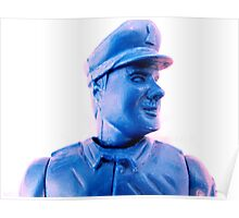 Man in Blue Poster