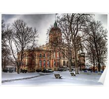 Elkhart County Courthouse Poster