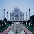 taj mahal, agra, india by gary roberts
