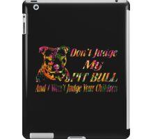 PITBULL iPad Case/Skin