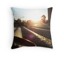 Rooftop. Throw Pillow