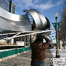 Photographing Another Piece of Art in Chicago's Millennium Park by Susan Russell