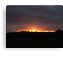 Irish Sunset Canvas Print