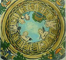 Cherubs, in the well. (2009) by Jasmin Witham