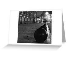 street scene beverley Greeting Card