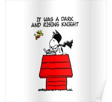 Snoopy Batman Poster