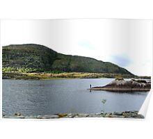 Fishing on the Lakes of Killarney - Kerry, Ireland Poster