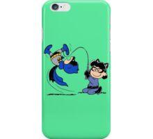 Batman Charlie Brown & Batgirl Lucy iPhone Case/Skin
