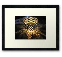 crown ablaze Framed Print