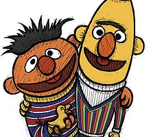 Bert And Ernie by Brett Gilbert