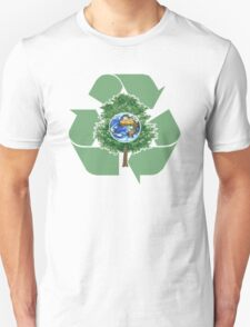 recycle earthday Unisex T-Shirt