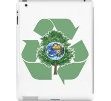 recycle earthday iPad Case/Skin