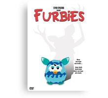 Furbies DVD Cover - Gremlins Parody Canvas Print