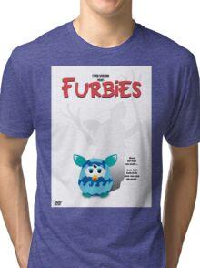 Furbies DVD Cover - Gremlins Parody Tri-blend T-Shirt