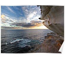 Australian Sundown Poster