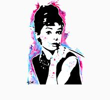Audrey Hepburn - Street art - Watercolor - Popart style - Andy Warhol Jonny2may Unisex T-Shirt