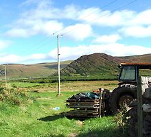 Rusted Tractor - Kerry, Ireland by CFoley