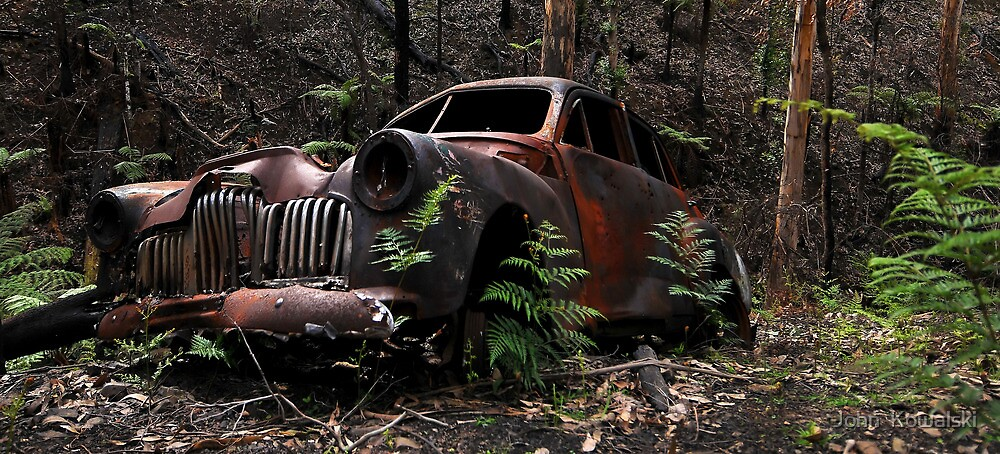 Burn Out by John  Kowalski