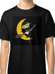 Green Witch Moon  11 Classic T-Shirt