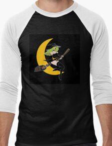 Green Witch Moon  11 Men's Baseball ¾ T-Shirt