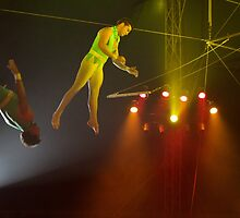 The Trapeze Flyer by verdoni