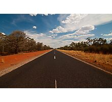 The Road Just Travelled Photographic Print