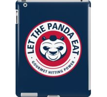 Let The Panda Eat iPad Case/Skin