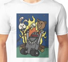 Teddy Bear And Bunny - Gone Native Unisex T-Shirt