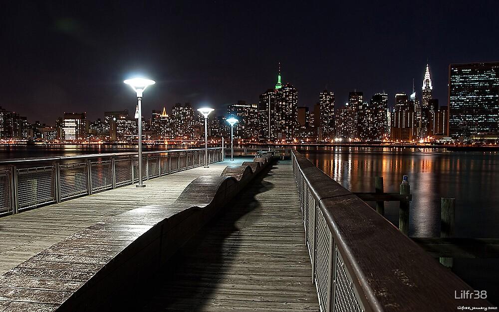 Gantry Night View by Lilfr38