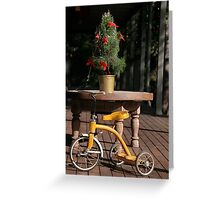 Tricycle Greeting Card