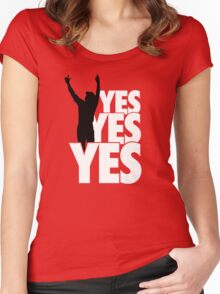 Yes Yes Yes! Women's Fitted Scoop T-Shirt