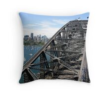 Sydney Harbour Bridge, Australia Throw Pillow