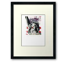 american freedom Framed Print