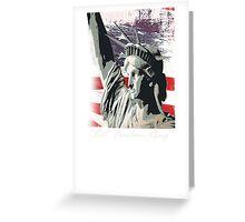 american freedom Greeting Card