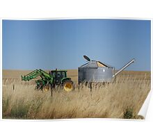 Harvest Silo Full to the rim Poster
