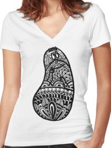 Barbapapa Women's Fitted V-Neck T-Shirt