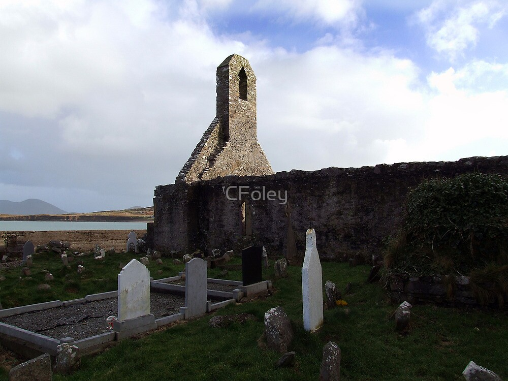 Ballinskelligs Abbey & Graveyard by CFoley