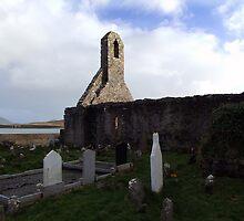 Ballinskelligs Abbey & Graveyard by CFoley