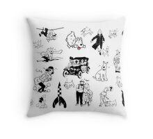 Tintín Throw Pillow