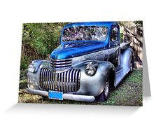 1941 Chevy Pickup Greeting Card