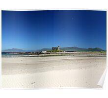 Ballinskelligs Castle in Summer -  Ballinskelligs, Kerry, Ireland. Poster