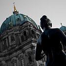 Berliner Dom Statue by lukefarrugia