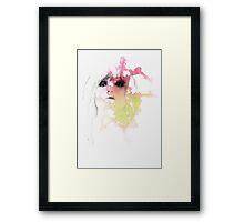 fear / lust Framed Print